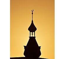 UT Minaret Photographic Print