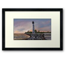Cape Florida Framed Print