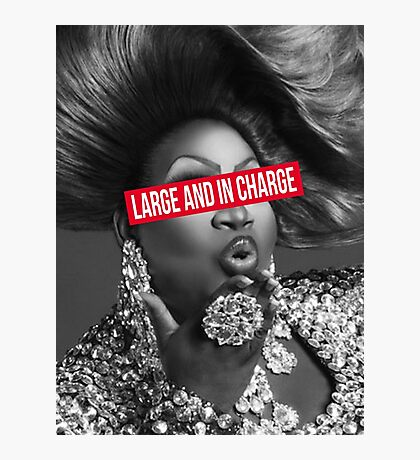 large and in charge Photographic Print