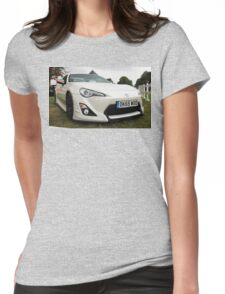 Toyota GT86 Womens Fitted T-Shirt
