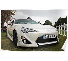 Toyota GT86 Poster