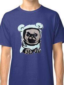 Pug in the hood Classic T-Shirt