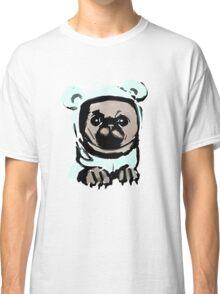 Pug in the hood Classic T-Shirt