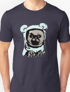 Pug in the hood Unisex T-Shirt