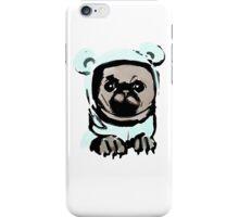 Pug in the hood iPhone Case/Skin