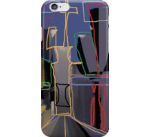 """Painting done in Photoshop with tablet and digital pen x Albruno."""" Copyright/ photo credit: Alejandro Silveira Bruno. iPhone Case/Skin"""