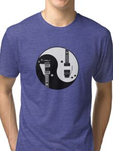 Yin Yang - Guitars Tri-blend T-Shirt