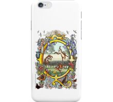 "The Illustrated Alphabet Capital  Q  ""Getting personal"" iPhone Case/Skin"