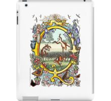 "The Illustrated Alphabet Capital  Q  ""Getting personal"" iPad Case/Skin"