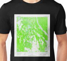 USGS TOPO Map Alaska AK Mount McKinley C-4 357796 1953 63360 Unisex T-Shirt