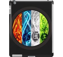 4 elements - Fire, Water, Air and Earth iPad Case/Skin