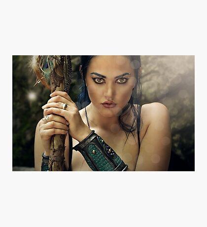 The Amazon Warrior Photographic Print