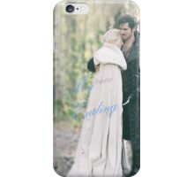 Emma Swan and Captain Hook iPhone Case/Skin