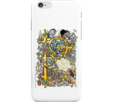 "The Illustrated Alphabet Capital  P  ""Getting personal"" iPhone Case/Skin"