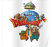 Dragon Quest monster and heroes Poster