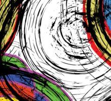 Urban Swirl Grunge Sticker