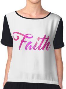 Faith Chiffon Top
