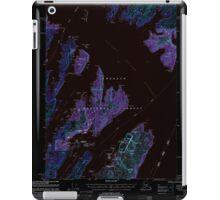USGS TOPO Map Alaska AK Seward A-3 358865 2000 63360 Inverted iPad Case/Skin