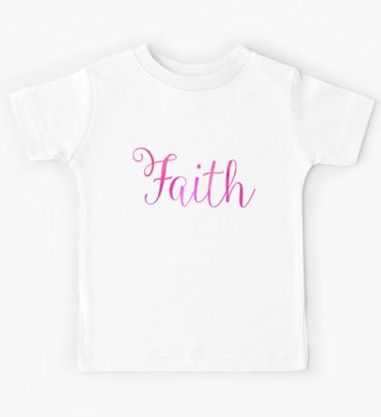 Faith Kids Tee