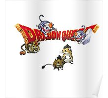 Dragon Quest - Attack munchie Poster