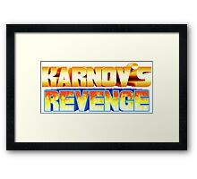 Karnov's Revenge / Fighter's History Framed Print