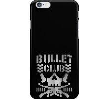 pixelated bullet club iPhone Case/Skin