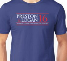 VOTE PRESTON & LOGAN 2016 A Unisex T-Shirt