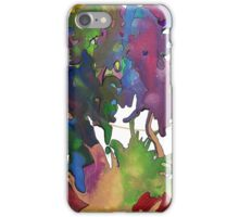 Splattered & Battered Pen & Ink Doodle Painting Brian moss iPhone Case/Skin