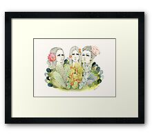 The Thorn Growers Framed Print