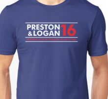 VOTE PRESTON & LOGAN 16 B Unisex T-Shirt
