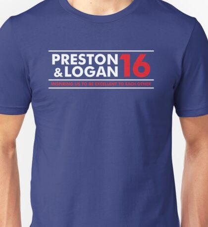 VOTE PRESTON & LOGAN 16 B Unisex T-Shirt