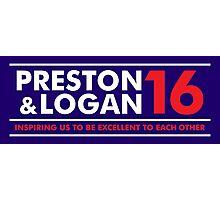 VOTE PRESTON & LOGAN 16 B Photographic Print