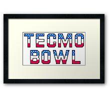Tecmo Bowl Framed Print