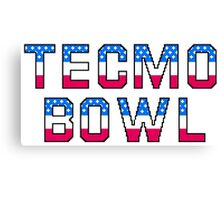 Tecmo Bowl Canvas Print