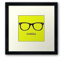 Intello-Geek Framed Print