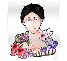 Pretty Setter: Akaashi Keiji (colored) Poster