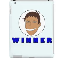 Lance WINNER Flag iPad Case/Skin