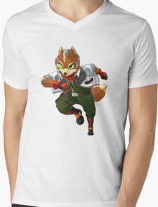 Fox Mccloud  Mens V-Neck T-Shirt