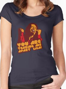 You are tearing me apart Lisa - The Room Women's Fitted Scoop T-Shirt