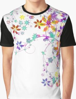 Pretty Floral Graphic T-Shirt