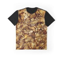 Earth Tone Abstract Graphic T-Shirt