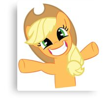 Hugs for Applejack? Canvas Print