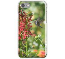 Ruby Throated Hummingbird 2016-3 iPhone Case/Skin