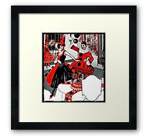 Flapper Costume Party  Framed Print