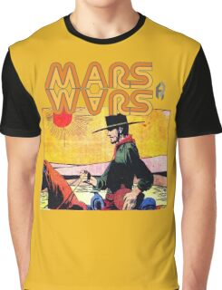 Mars Travels. Graphic T-Shirt