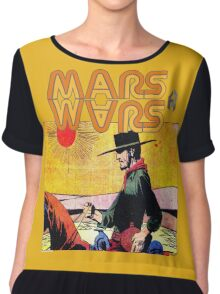 Mars Travels. Chiffon Top