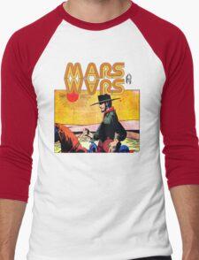 Mars Travels. Men's Baseball ¾ T-Shirt