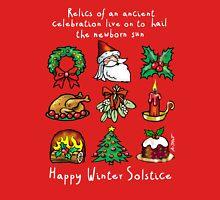 Winter Solstice relics Unisex T-Shirt