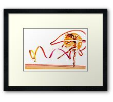 Fluidity in Motion 2 Framed Print