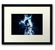 Electro-Knight Framed Print
